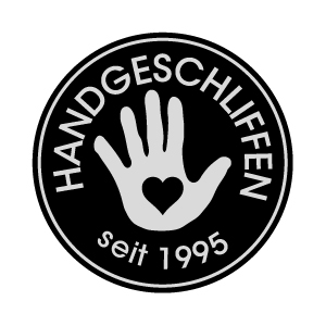 handgeschliffen-Button